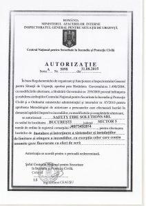 autorizatie sfs romania servicii ssm psi pc iscir